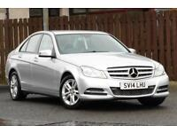 2014 MERCEDES C-CLASS C200 2.1CDI BLUEEFFICIENCY EXECUTIVE SE SALOON DIESEL