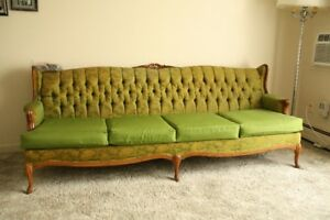 4 seater French Provincial couch and chair set