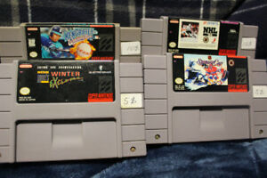 Jeux SNES : NHL 94, Stanley Cup, KenGriffey, Winter Extreme