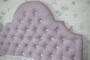 Upholstered Headboard for Sale- Full/Double Size in Dusty Lilac