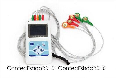 Tlc5007 Dynamic Holter Ecg 3 Channel 12 Lead Ekg Recorder Software Us Warehouse