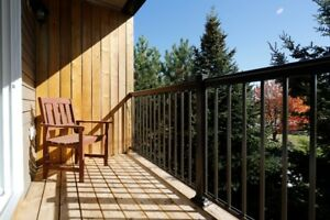 Late summer, Crisp mornings, Warm afternoons, Enjoy your deck!