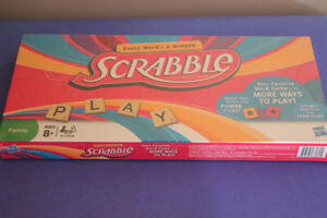 SCRABBLE (Factory Sealed) (VIEW OTHER ADS)