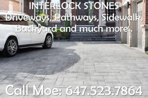 Best Way Trevista 80 Driveway Interlock Walkway Interlock Stones