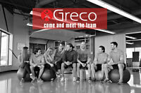 Greco Orleans is hiring a Personal Trainer!