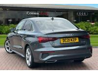 2021 Audi A3 Saloon S line 35 TDI 150 PS S tronic Auto Saloon Diesel Automatic