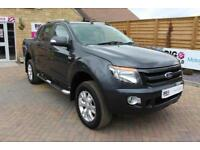 2015 FORD RANGER WILDTRAK 4X4 TDCI 197 BHP DOUBLE CAB WITH MOUNTAIN TOP PICK UP