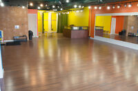Dance Yoga Fitness Studio for rent on Whyte Ave