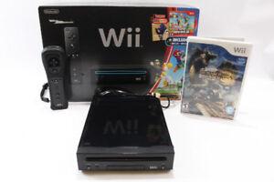 Console Nintendo Wii comme NEUVE avec 30$ de jeux pour 79.95$