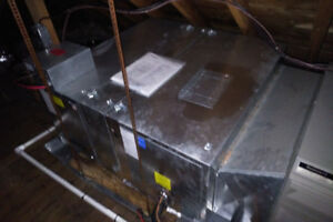 Attic Air Conditioner System - With Air Handler, 2 Years Old