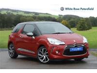 2015 DS Ds 3 1.6 BlueHDi DStyle Nav 3dr Diesel red Manual