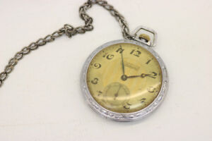 Admiral Non Magnetic Vintage Pocket Watch (#1295)