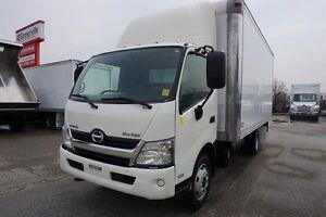 2013 Hino 195 18' Dry Freight Body