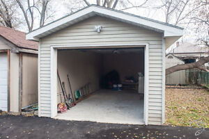 Large & Clean Garage Available