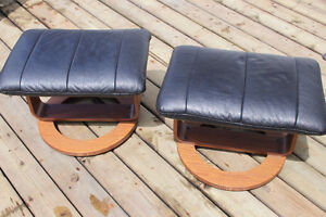 Pair of matching footstools