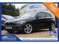 2013 63 BMW 1 SERIES 2.0 118D SPORT 3D 141 BHP DIESEL