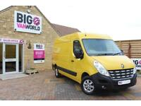 2014 RENAULT MASTER MM35 DCI 125 QUICKSHIFT MWB MEDIUM ROOF FWD VAN MWB DIESEL