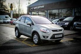 2009 09 FORD KUGA 2.0 TDCi Titanium 5dr 2WD in Silver