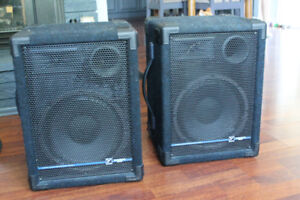 YORKVILLE YS-110 PERFORMANCE SERIES MONITORS.