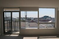 September 1st! Brand-new downtown one-bedroom with water view