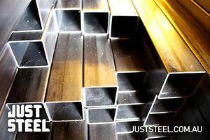 Steel Square Tube SHS Galvanised 6mtr Length Size 100x100x3mm