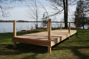 Beautiful Authentic Wooden Docks