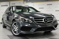 2014 Mercedes-Benz E550 4MATIC Sedan