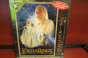 500 PIECE LORD OF THE RINGS THE TWO TOWERS PUZZLE NEW