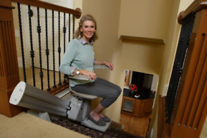 Don't Move. Improve!  With a Bruno Stairlift from UHP