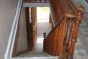 StairCase Bannister Circa 1870 from StageCoach House Cape Breton