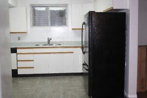 2 bedrooms basement suite  available immediately