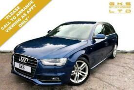 image for 2013 Audi A4 2.0 AVANT TDI S LINE START/STOP 5d 148 BHP Estate Diesel Automatic