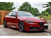 2017 Alfa Romeo Giulia 2.9 V6 Bi-Turbo Quadrifoglio Auto (s/s) 4dr Saloon Petrol