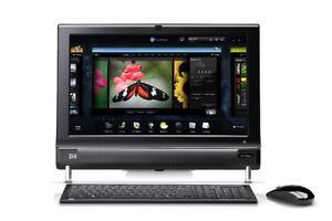 HP TouchSmart 300-1020 PC All in One / 20in LCD / 2.7Ghz / 500G