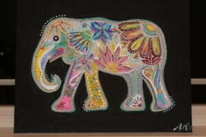 Eccentric elephant painting