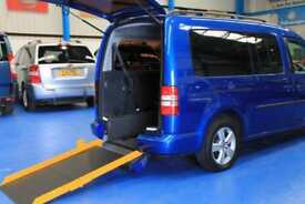 Volkswagen Caddy Maxi Automatic Wheelchair car disabled Accessible vehicle Auto
