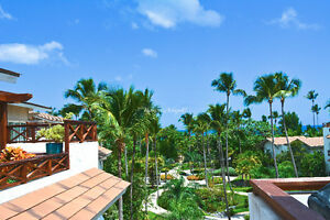 Exclusive beach front penthouse Balcones del Atlantico, Terrenas