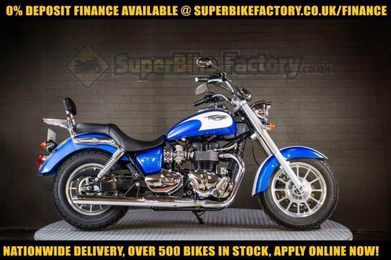 2013 13 Triumph America Bonneville 865 865cc 0 Deposit Finance