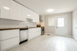 Beautifully Renovated Spacious 3 Bedroom Apartment