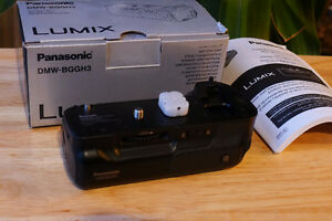 Panasonic DMW-MA1 Grip for Panasonic GH3 and Battery  Excel Cond