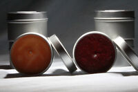 6x 4oz Organic Scented Coloured Soy Candles