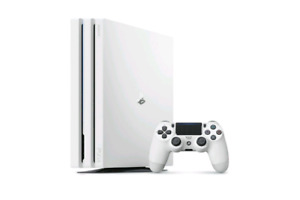 White PS4 PRO for sale