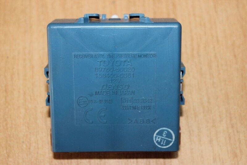 2007 LEXUS LS 460 / TIRE PRESSURE MONITOR RECEIVER 89760-50020