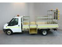 FORD TRANSIT 350 LWB 2.4 2D 350 DRW 124 BHP LR LWB RWD REVERSE CAMERA