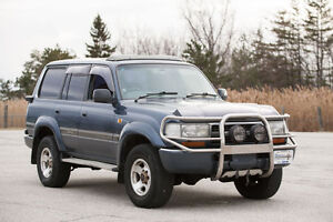 1992 Toyota Land Cruiser VX Limited - Turbo Diesel RHD certified