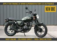 2020 HANWAY RAW 125 EFI NEW MOTORBIKE BUY ONLINE CONTACTLESS NATIONWIDE DELIVERY