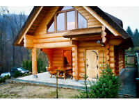 Custom Log house,Investors wanted