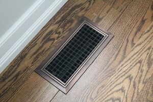 New Floor Register/Grate(4x10 and 3x10 sizes)