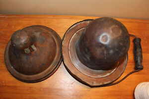Old Copper Hinged Lid Insert For Antique Stove London Ontario image 5