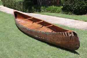 I am looking for a old canoe.